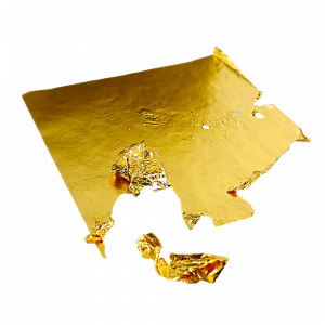Foglia in oro puro certificato