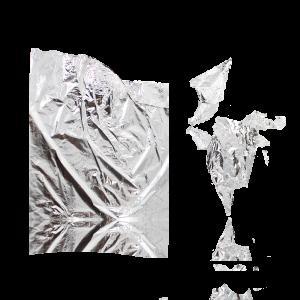 Foglia in argento